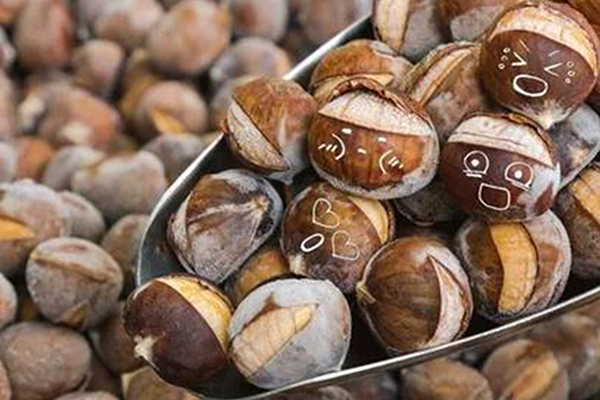 IQF roasted ringent chestnut