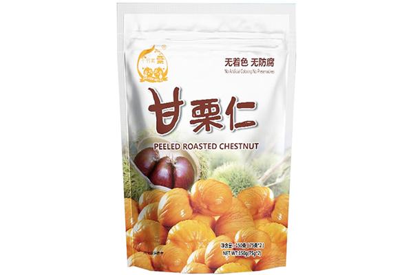 Shifenmeili peeled roasted chestnut 150g (75g2 bags )