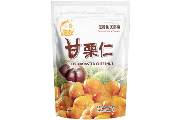 Shifenmeili peeled roasted chestnut 150g (75g2 bags )